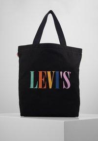 Levi's® - SERIF LEVI'S® MULTI - Bolso shopping - regular black - 0