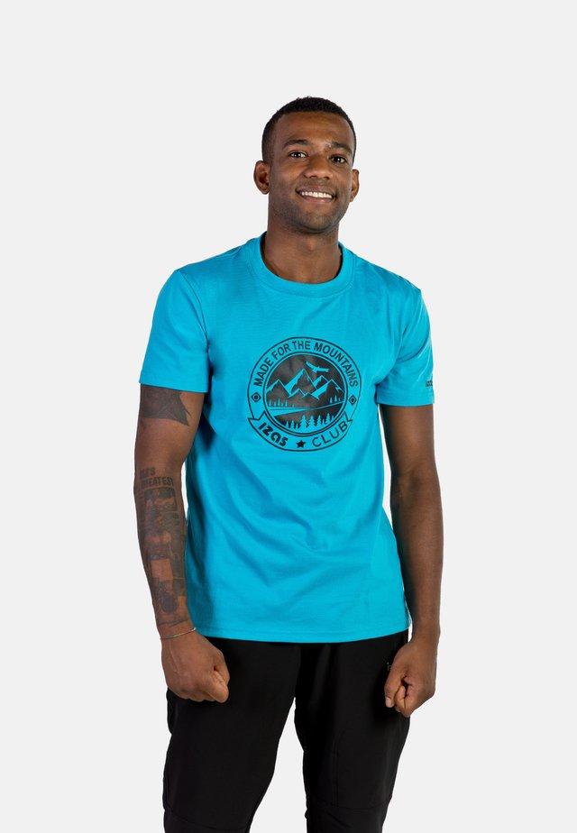 ZURICH - T-shirt con stampa - turquoise