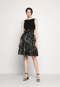 Lauren Ralph Lauren - YUKO - Cocktail dress / Party dress - black/silver - 1