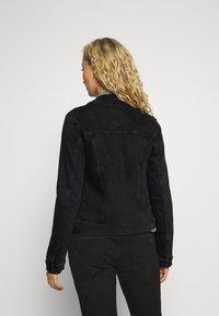 TOM TAILOR DENIM - RIDERS JACKET - Denim jacket - used dark stone black - 2
