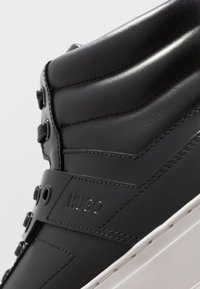 HUGO - FUTURISM - Sneakersy wysokie - black - 5