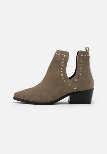 OVER THE RAINBOW - Ankle boots - taupe