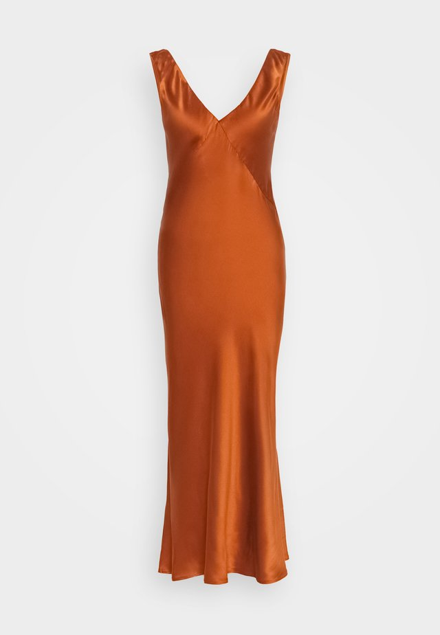 THE SLIP DRESS - Nattskjorte - rust