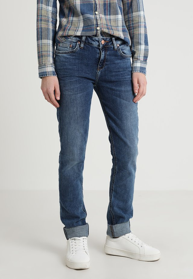 ASPEN - Jeansy Slim Fit - blue denim