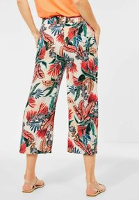 Cecil - LOOSE FIT - Trousers - weiß - 2