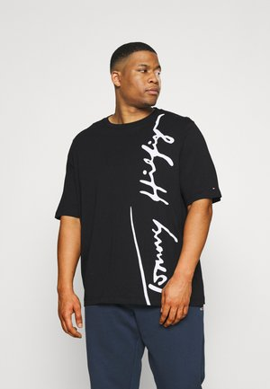 COOL LARGE SIGNATURE TEE - Print T-shirt - black