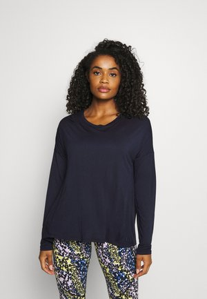 EASY PEAZY - T-shirt à manches longues - navy blue