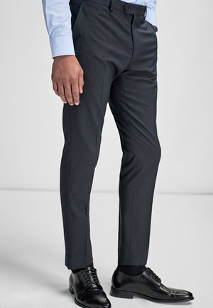 STRETCH TONIC SUIT: TROUSERS-SLIM FIT - Oblekové kalhoty - blue