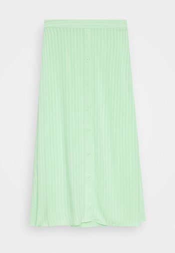 LEONORE SKIRT - A-snit nederdel/ A-formede nederdele - pistachio green