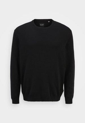 ONSALEX SOLID CREW NECK - Jumper - black