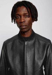 BOSS - NIPET - Leather jacket - black - 3