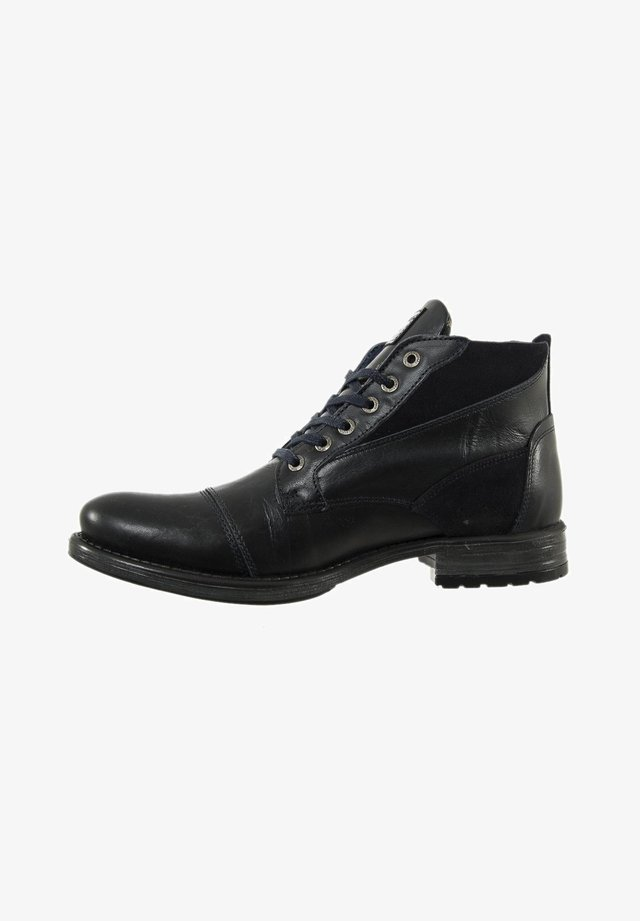 Bottines à lacets - noir