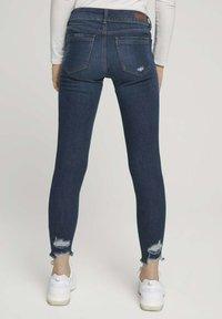 TOM TAILOR DENIM - Jeans Skinny Fit - used dark stone blue denim - 2