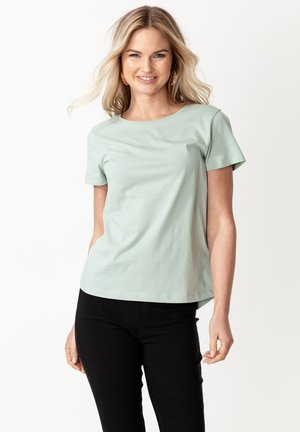 MATHILDA - Basic T-shirt - light green
