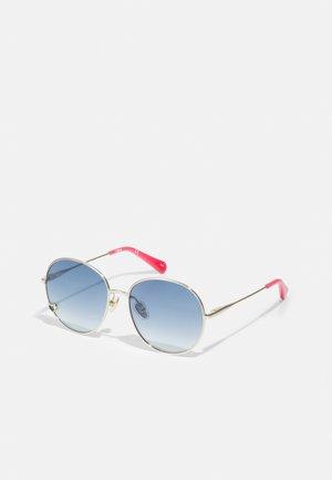 SUNGLASS KID UNISEX - Sunglasses - gold/blue