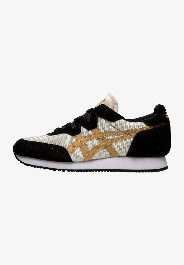 Sneakers laag - ivory/camel beige