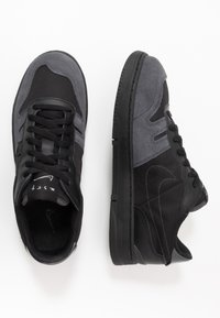 Nike Sportswear - SQUASH TYPE - Matalavartiset tennarit - black/anthracite - 1