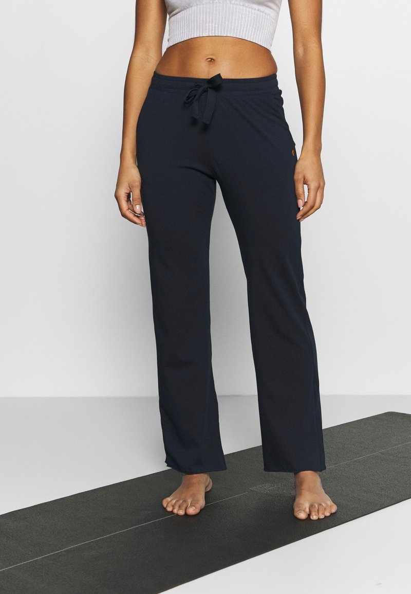 Deha - PANTS - Tracksuit bottoms - night blue