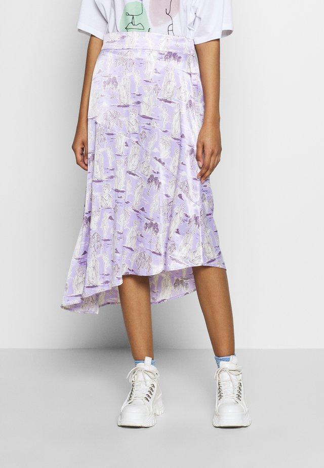 SAMMY SKIRT - A-snit nederdel/ A-formede nederdele - lilac purple light