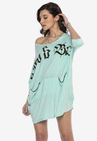 Cipo & Baxx - Jersey dress - mint - 7