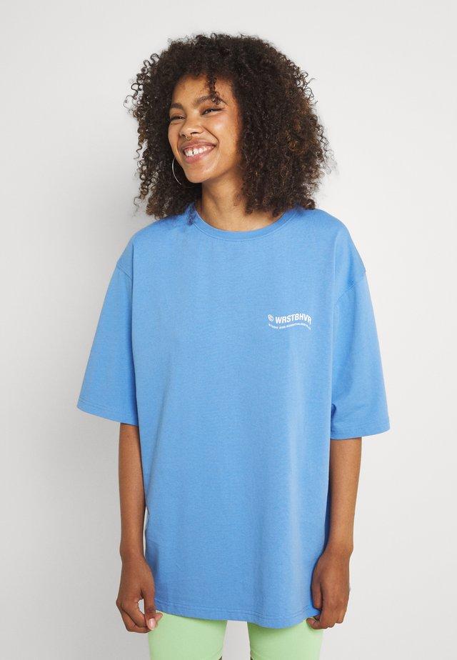CIRCLE WOMEN - T-shirt print - sea blue