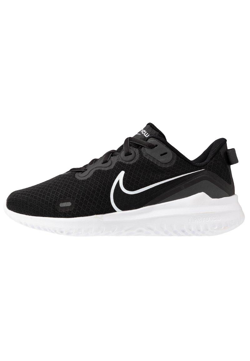 Nike Performance - RENEW RIDE  - Chaussures de running neutres - black/dark smoke grey/white