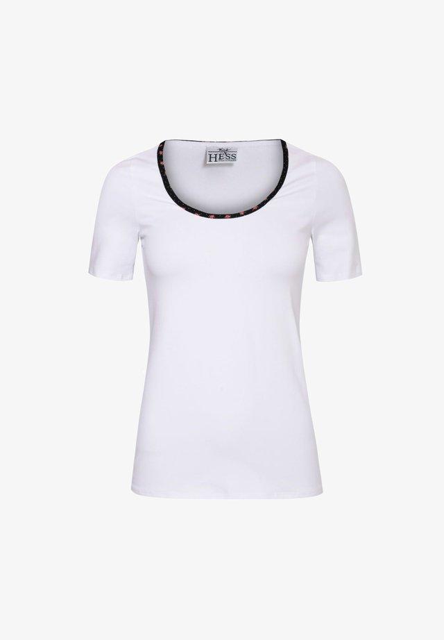 TRACHTEN - Print T-shirt - weiß