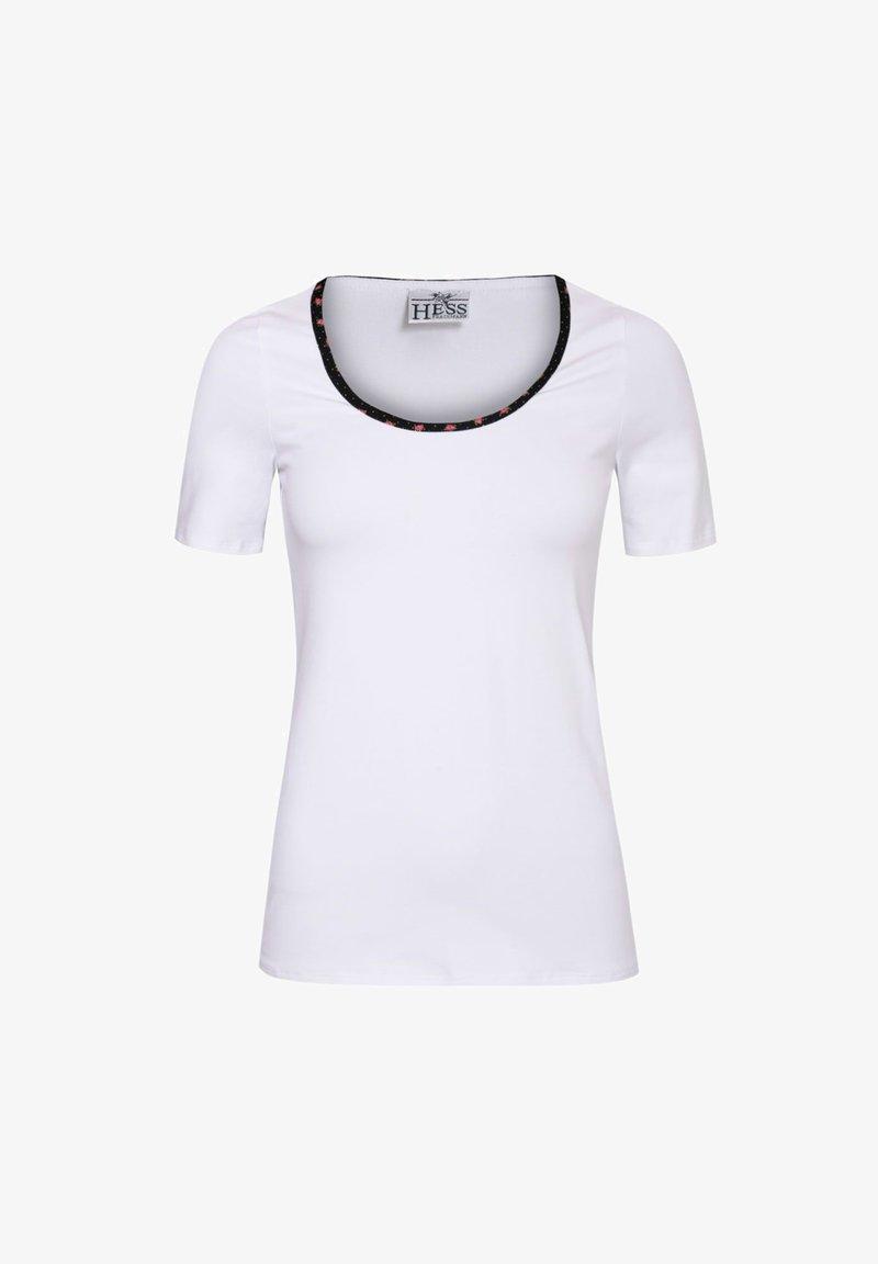 Hess - TRACHTEN - Print T-shirt - weiß