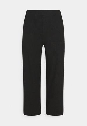 CARMERHAWIT WIDE  PANT - Bukse - black