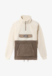 Vans - MN SHERPA - Fleece jumper - desert taupe/antique wht - 1