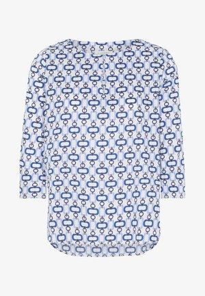MODERN CLASSIC - Blouse - navy/light blue/white