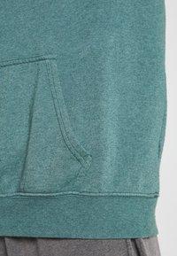 BDG Urban Outfitters - SKATE HOODIE UNISEX - Felpa - teal - 5