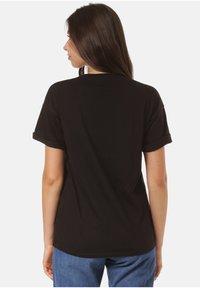 Carhartt WIP - CARRIE POCKET - Print T-shirt - black - 1