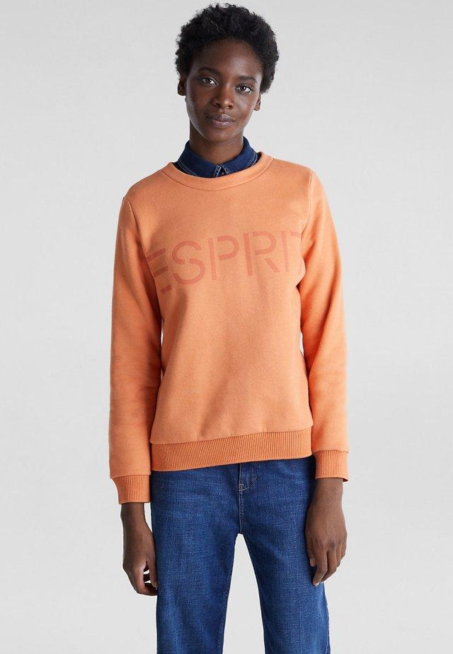 Sweatshirt - rust orange