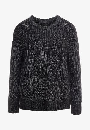 ROCKSTAR GLAM SWEATER - Jumper - black