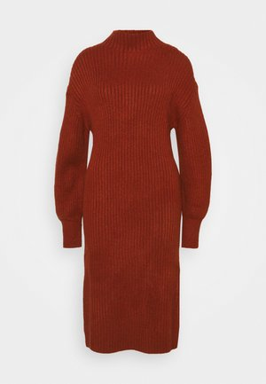 SLOUCHY  - Jumper dress - red