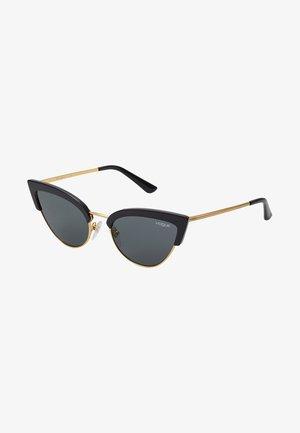 Sluneční brýle - black/gold-coloured