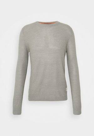JORTONS CREW NECK - Svetr - light grey melange