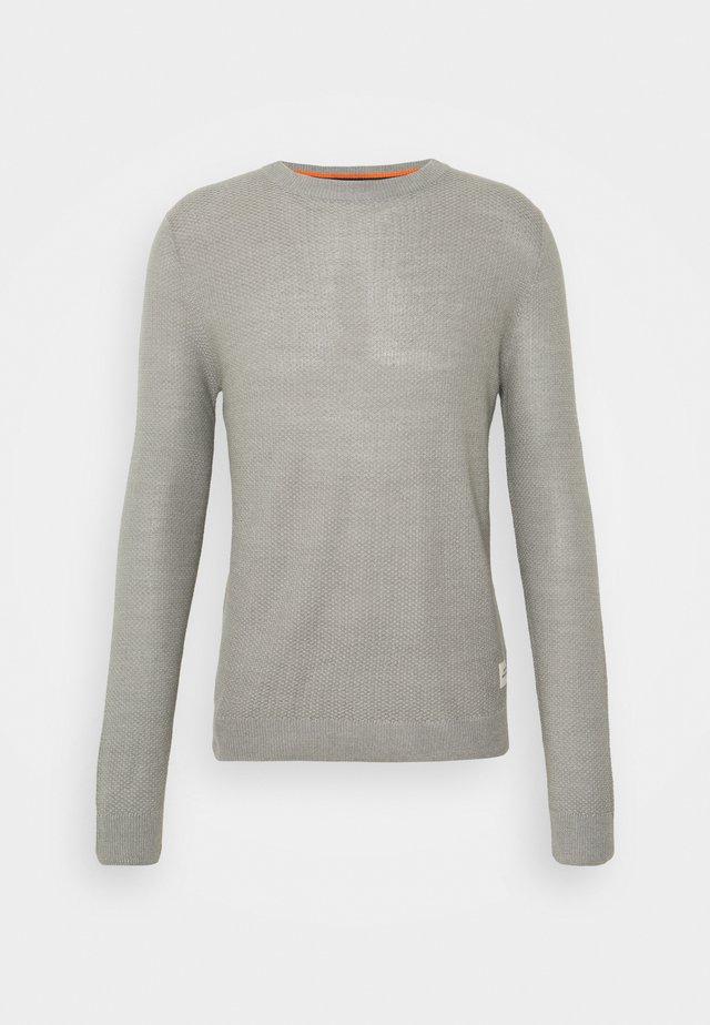 JORTONS CREW NECK - Jumper - light grey melange