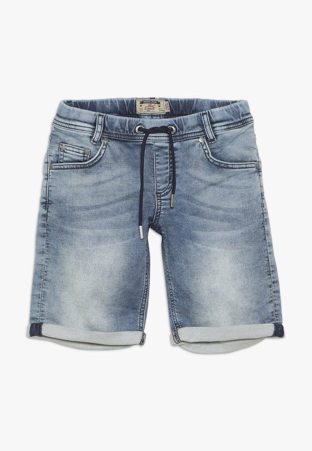 BOYS - Denim shorts - light blue