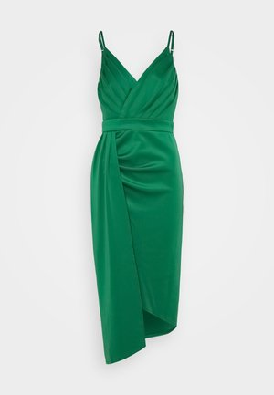 SELIA MIDI DRESS - Cocktail dress / Party dress - jade green