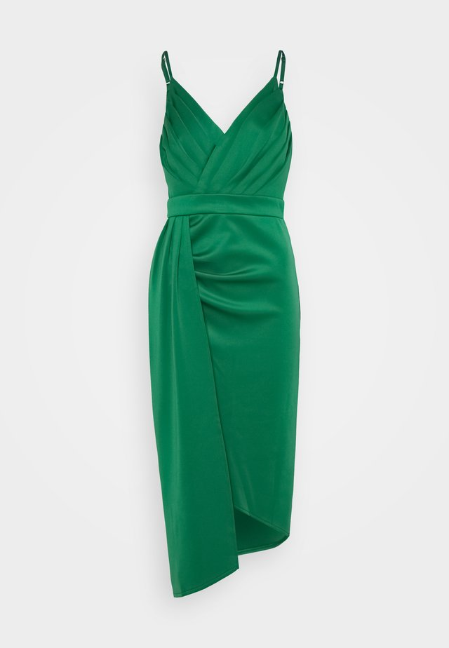 SELIA MIDI DRESS - Sukienka koktajlowa - jade green