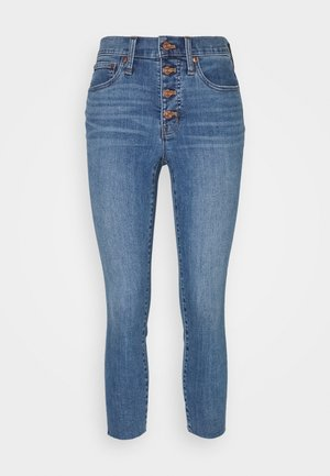 HIGH RISE TOOTHPICK  - Jeans slim fit - light blue