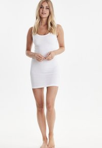 b.young - PAMILA - Jersey dress - optical white - 1