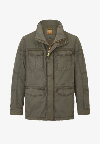 Outdoor jacket - heritage khaki