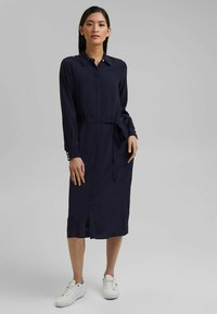Esprit Collection - FASHION - Robe chemise - navy - 1