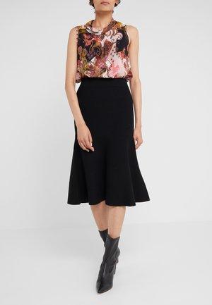 ESTE - A-line skirt - schwarz