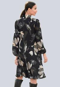 Alba Moda - Day dress - schwarz/creme-weiß - 1