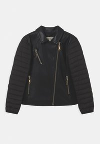 TWINSET - CHIODO - Faux leather jacket - nero - 0