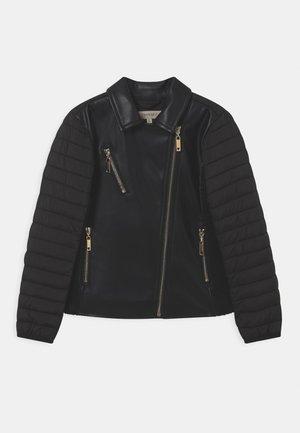 CHIODO - Faux leather jacket - nero